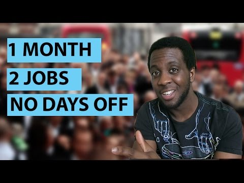 1 Month, 2 Jobs, No Days off! | Can being busy make you more productive?