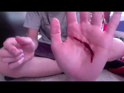 How to Make a Fake Cut: Special FX Tutorial