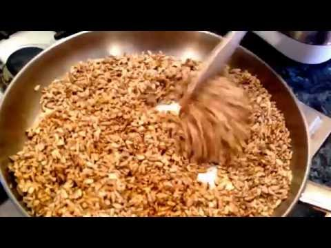 How to make Roasted Sunflower Seeds in Tamari with Mandakini Foux from Dynamic Wellness Australia
