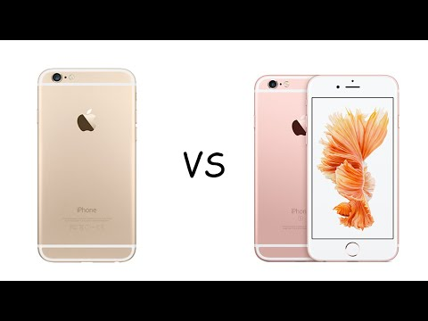 iPhone 6S Gold • VS • Rose Gold