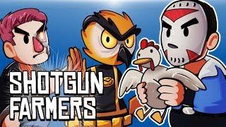 SHOTGUN FARMERS - CATCH THE CHICKEN!!!!