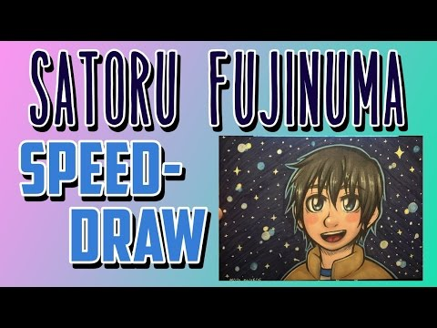 Satoru Fujinuma [ERASED] Speed-draw