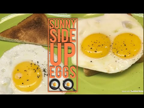 Eggs   Sunny Side Up Eggs , The Perfect Runny Yolks
