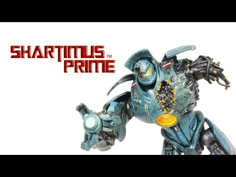 NECA Gipsy Danger Anchorage Attack Knifehead Battle 7 Inch Movie Action Figure Review