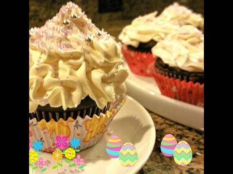 How to Make Cupcakes from Scratch | Chocolate Cupcake Recipe with buttercream frosting