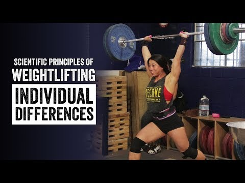 Scientific Principles of Weighlifting | Individual Differences | JTSstrength.com