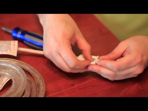 How to Replace the Fuse in GE LED Rope Lighting : LED Lighting Tips