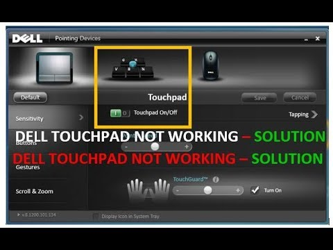 How to Fix Dell Touchpad Problem