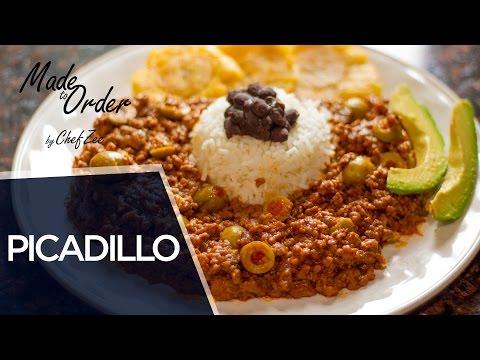 Dominican Style Picadillo | Carne Molida Dominicano | Made To Order | Chef Zee Cooks