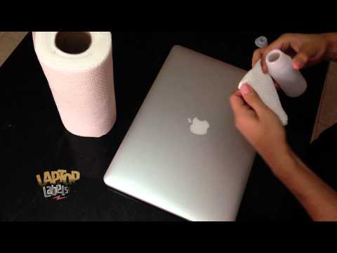 How to remove your Laptop Labels - MacBook Decals