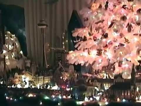 Amazing Christmas Tree Village