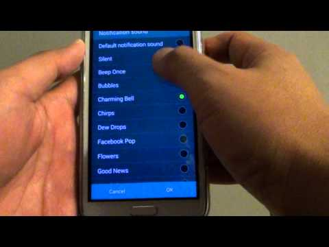 Samsung Galaxy S5: How to Change Text Messages Notification Sound