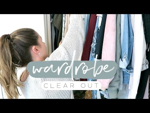 Wardrobe Clear Out