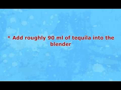How to Make Frozen Margarita