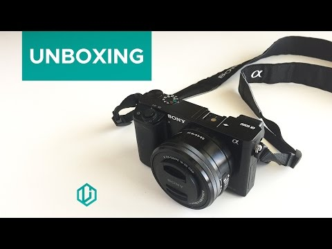 Sony a6000 Unboxing