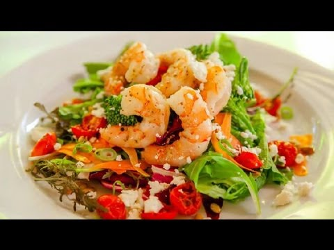 Cooked Shrimp Salad : Seafood Salad