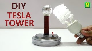 How to make Tesla Tower at home