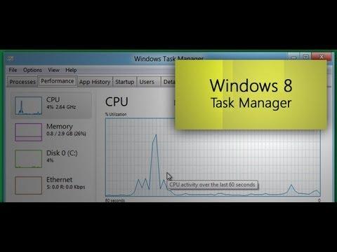 Windows 8 Developer Preview - Task Manager