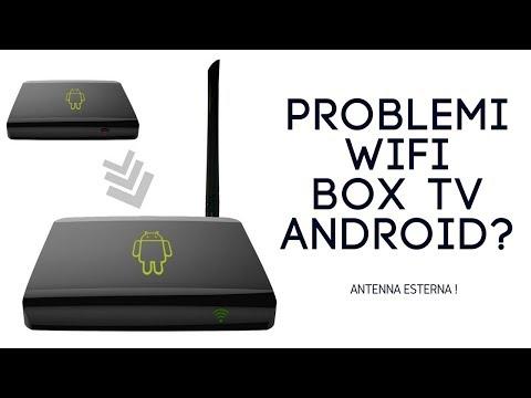 Box TV Android, problemi di connessione e wifi lento? Antenna esterna.