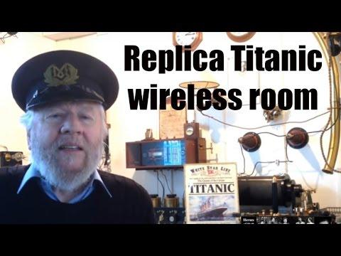 radio city - Titanic Marconi Wireless Room replica at Birthplace of Radio