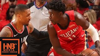 Download Portland Trail Blazers Vs New Orleans Pelicans 1st Qtr Highlights / Game 4 / 2018 NBA ...