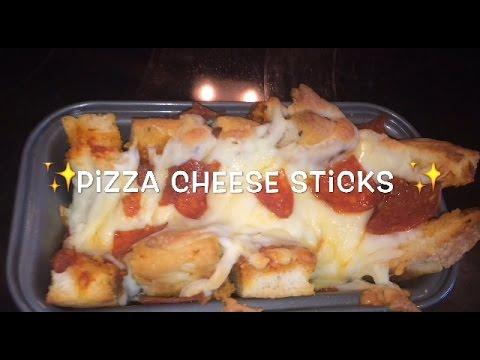 Leftover Pizza Cheese Sticks!
