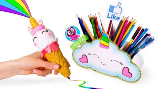 How To Make Mini Unicorn School Supplies That Really Work