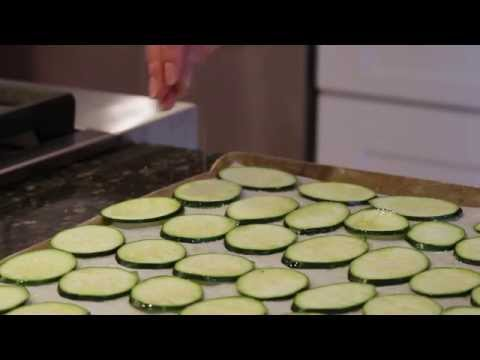 How to Make Crispy Healthy Zucchini Chips!