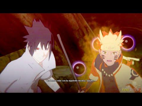 Naruto & Sasuke Vs Rikudou Madara (Español Latino) - Naruto Shippuden: Storm 4