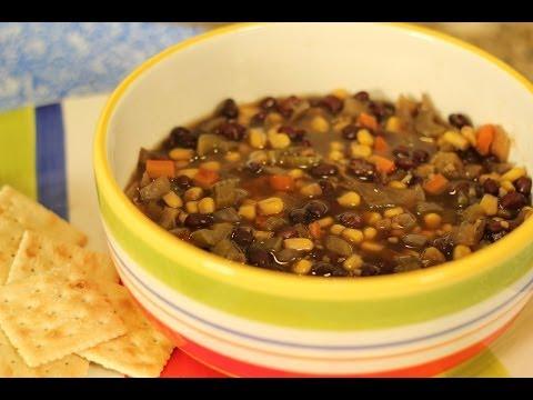 Tiffany's Black Bean Soup - Crockin' Girls