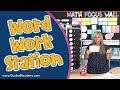 All About My WORD WORK Station