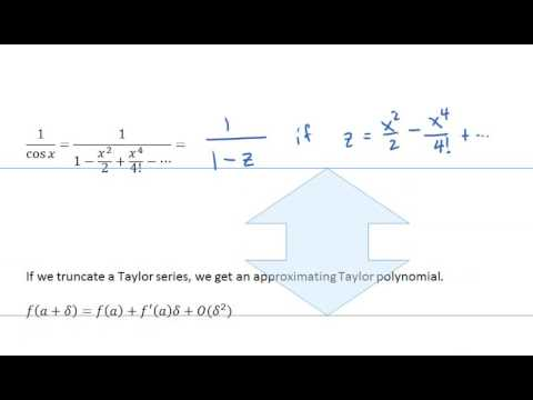 MATH426: Taylor series review
