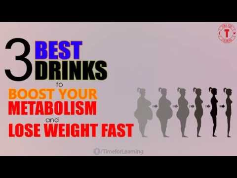 3 Best Drinks To Boost Your Metabolism And Lose Weight Fast!