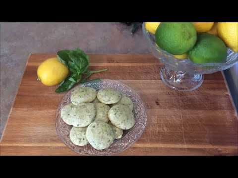 Lemony Basil Cookies - Rise Wine & Dine - Episode 6