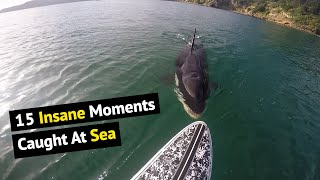 Top 15 Insane Moments Caught On Camera | Unbelieve Moments At Sea