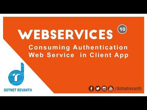 Consuming Authentication Web Service Asp.Net C# || Part-10 continuation..