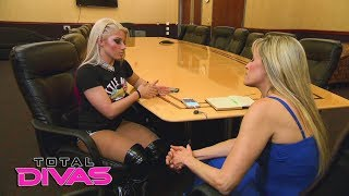 Alexa Bliss opens up about her past eating disorder: Total Divas Preview Clip, Nov. 8, 2017