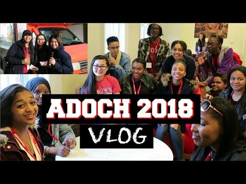 Brown University ADOCH 2018 | VLOG [We Pose for Free Food]