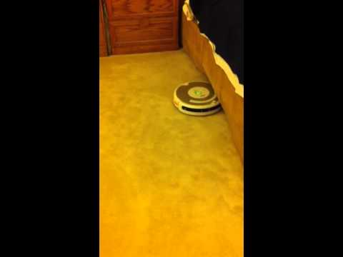 Roomba 535 in normal operation after bumper sensor repair