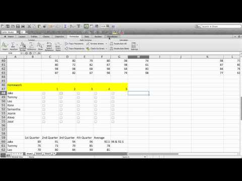 How to Insert a Tick Mark in Excel : Microsoft Excel Tips