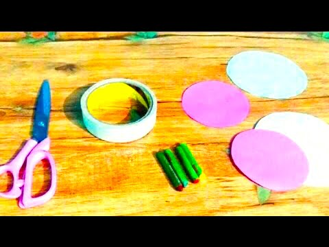 Paper butterfly !! How to make Realistic paper butterfly ( hindi )- cool and creative