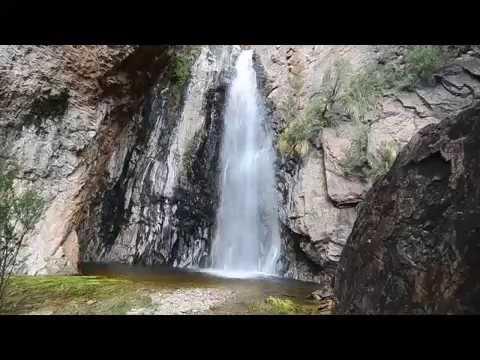 Cattail Falls, Summer flow - Big Bend National Park