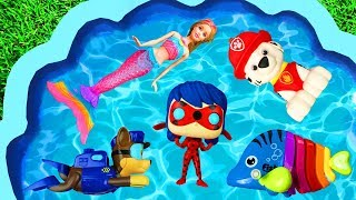 Characters and Toys for Kids - Learning with Frozen, Barbie, Paw Patrol, Lady Bug and Pj Masks