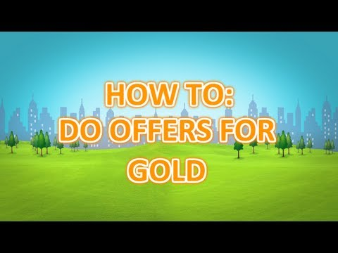 How To: Do Offers For Gold On Facebook MiniPlanet