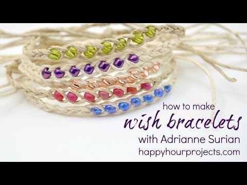 Wish Bracelet Video Tutorial
