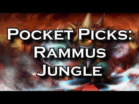 Pocket Picks: Rammus Jungle - An Amazing Solo Queue Jungler | League of  Legends LoL