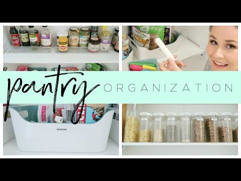 Organize With Me - Pantry