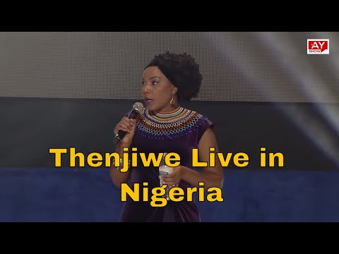 Thenjiwe Performs at a Show in Lagos Cover