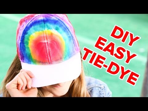 Easy Marker Tie-Dye