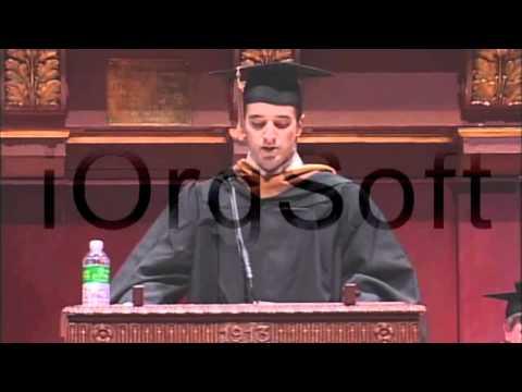 Harry Seplowitz University of Michigan Business School Commencement Speech